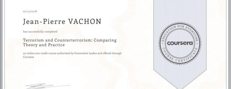 Terrorisme et Contreterrorisme